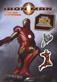 Fabrice Le Jean et Géraldine Ségaud - Iron Man - Autocollants repositionnables.