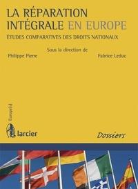 Birrascarampola.it La réparation intégrale en Europe - Etudes comparatives des droits nationaux Image