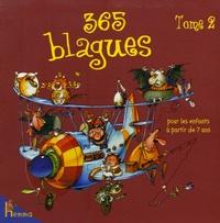 Fabrice Lelarge et François Ruyer - 365 Blagues pour les enfants à partir de 7 ans - Tome 2.