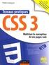 Fabrice Lemainque - Travaux pratiques CSS 3 - Optimisez la conception de vos pages web.