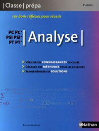 Fabrice Lembrez - Analyse PCSI/MPSI/PTSI.