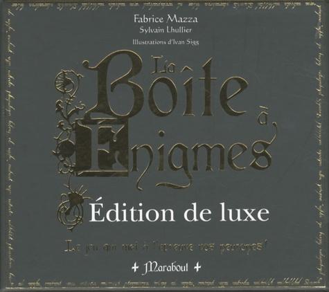 Fabrice Mazza et Sylvain Lhullier - La boîte à énigmes - Edition deluxe.