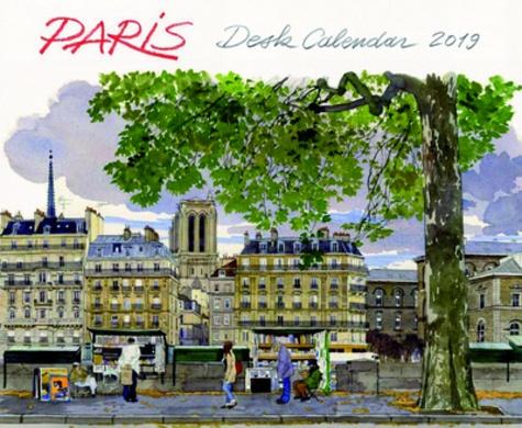 Fabrice Moireau - Desk calendar Paris.