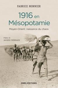 Fabrice Monnier - 1916 en Mésopotamie - Moyen-Orient : naissance du chaos.