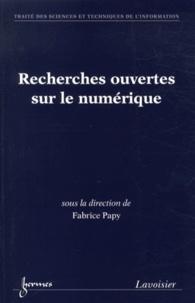 Fabrice Papy - Recherches ouvertes sur le numérique - Approches pratiques en information-communication.