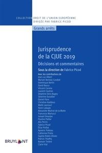 Fabrice Picod - Jurisprudence de la CJUE - Décisions et commentaires.