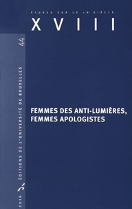 Fabrice Preyat - Femmes des anti-lumières, femmes apologistes.