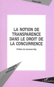 Coachingcorona.ch La notion de transparence dans le droit de la concurrence Image