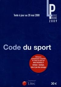 Fabrice Rizzo et Frédéric Buy - Code du sport 2008.