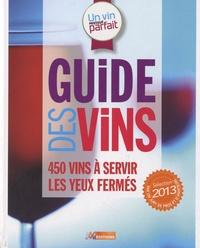 Fabrice Sommier - Guide des vins - Sélection 2013.