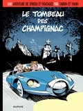 Fabrice Tarrin et Yann Tarrin - Spirou Tome 3 : Le tombeau des Champignac.