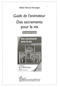 Histoiresdenlire.be Des sacrements pour la vie - Guide de l'animateur Image