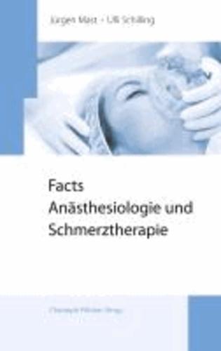 Facts Anästhesiologie und Schmerztherapie.