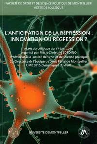 Checkpointfrance.fr L'anticipation de la répression : innovation ou régression ? - Colloque du 17 juin 2016 Image
