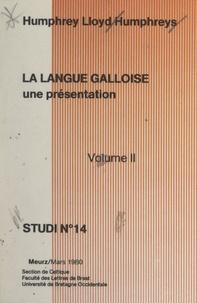 Faculté des lettres de Brest et  Université de Bretagne occiden - La langue galloise, une présentation (2).