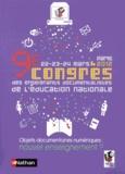 FADBEN - Objets documentaires numériques : nouvel enseignement ? - 9e Congrès des enseignants documentalistes de l'Education nationale, Paris, 22-23-24 mars 2012.