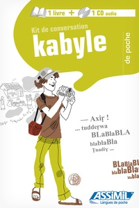 Fadhma Amazit-Hamidchi et Mohand Lounaci - Kit de conversation kabyle. 1 CD audio