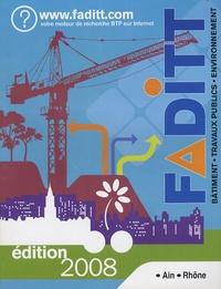 FADITT - FADITT bâtiment travaux publics environnement - Ain-Rhône.