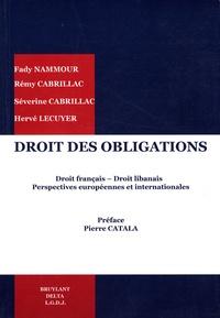 Corridashivernales.be Droit des obligations - Droit français - Droit libanais, perspectives européennes et internationales Image