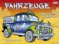 Fahrzeuge - Ein Malbuch mit 50 tollen Stickern.