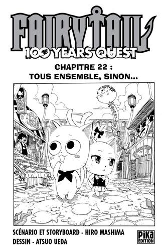 Fairy Tail - 100 Years Quest Chapitre 022. Tous ensemble, sinon...