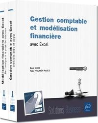Faïza Moumen Piasco et Boris Noro - Gestion comptable et modélisation financière avec Excel - Coffret en 2 volumes :Gestion comptable avec Excel (versions 2016 et 2019) ; Modélisation financière avec Excel - De l'analyse à la prise de décision.