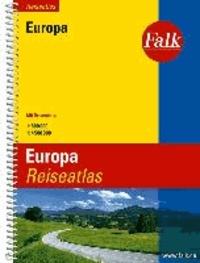 Falk Reiseatlas Europa 1 : 800 000 / 1: 4 500 000 - Mit Ortsregister.