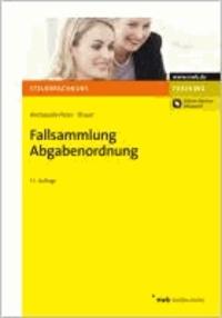 Fallsammlung Abgabenordnung - Online-Version inklusive.