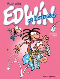 Falzar et  E411 - Edwin et les twins Tome 1 : Premières couches.