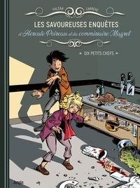 Falzar - Les savoureuses enquêtes d'Hercule Poireau et du commissaire Magret.