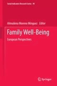 Almudena Moreno Minguez - Family Well-Being - European Perspectives.