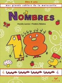 Fanelly Lacroix et Frédéric Rébéna - Nombres, dès 5 ans.