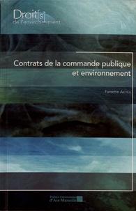 Fanette Akoka - Contrats de la commande publique et environnement.