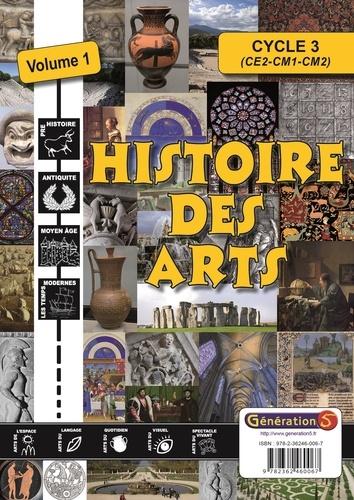 Fanette Boudon - Histoire des arts Cycle 3 - Volume 1, De la Préhistoire aux Temps modernes. 1 Cédérom