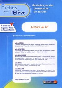 Fanette Boudon - Lecture au CP - Fiches pour l'élève.