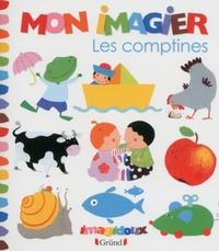 Fani Marceau et Claire Le Grand - Les comptines - Mon imagier.