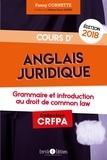 Fanny Cornette - Cours d'anglais juridique - Tout le programme en fiches et en schémas.