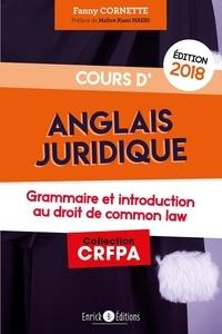 Livres anglais gratuits à télécharger Cours d'anglais juridique  - Tout le programme en fiches et en schémas par Fanny Cornette PDB CHM iBook (Litterature Francaise)