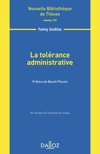 Fanny Grabias - La tolérance administrative.