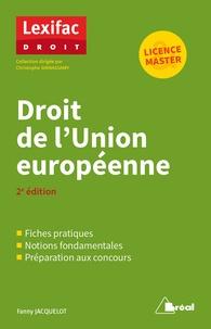 Fanny Jacquelot - Droit de l'Union européenne.