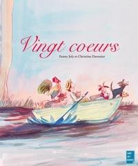 Fanny Joly et  Christine Davenier - Vingt cœurs - Un livre illustré à découvrir dès 6 ans.