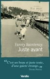 Fanny Saintenoy - Juste avant.