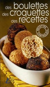 Fanny Triboulet - Des boulettes, des croquettes, des recettes.