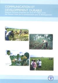 Communication et développement durable - Sélection darticles présentés lors de la 9e Table ronde des Nations Unies sur la communication pour le développement.pdf