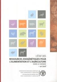 Létat des ressources zoogénétiques pour lalimentation et lagriculture dans le monde - En bref.pdf