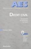 Farhad Ameli - Droit civil - Introduction, les personnes, les biens.