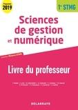 Farid Abdat et Andrée Ali - Sciences de gestion et numérique 1re STMG - Livre du professeur.