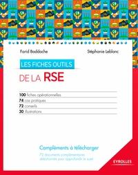 Farid Baddache et Stéphanie Leblanc - Les fiches outils de la RSE.
