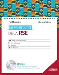 Farid Baddache et Stéphanie Leblanc - Les fiches outils de la RSE. 1 Cédérom