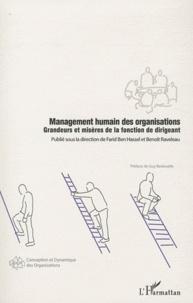 Deedr.fr Management humain des organisations - Grandeurs et misères de la fonction de dirigeant Image